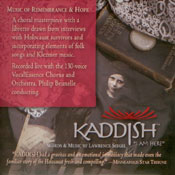 cd cover - kaddish